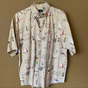 Puritan short sleeve button-down. XL - $25